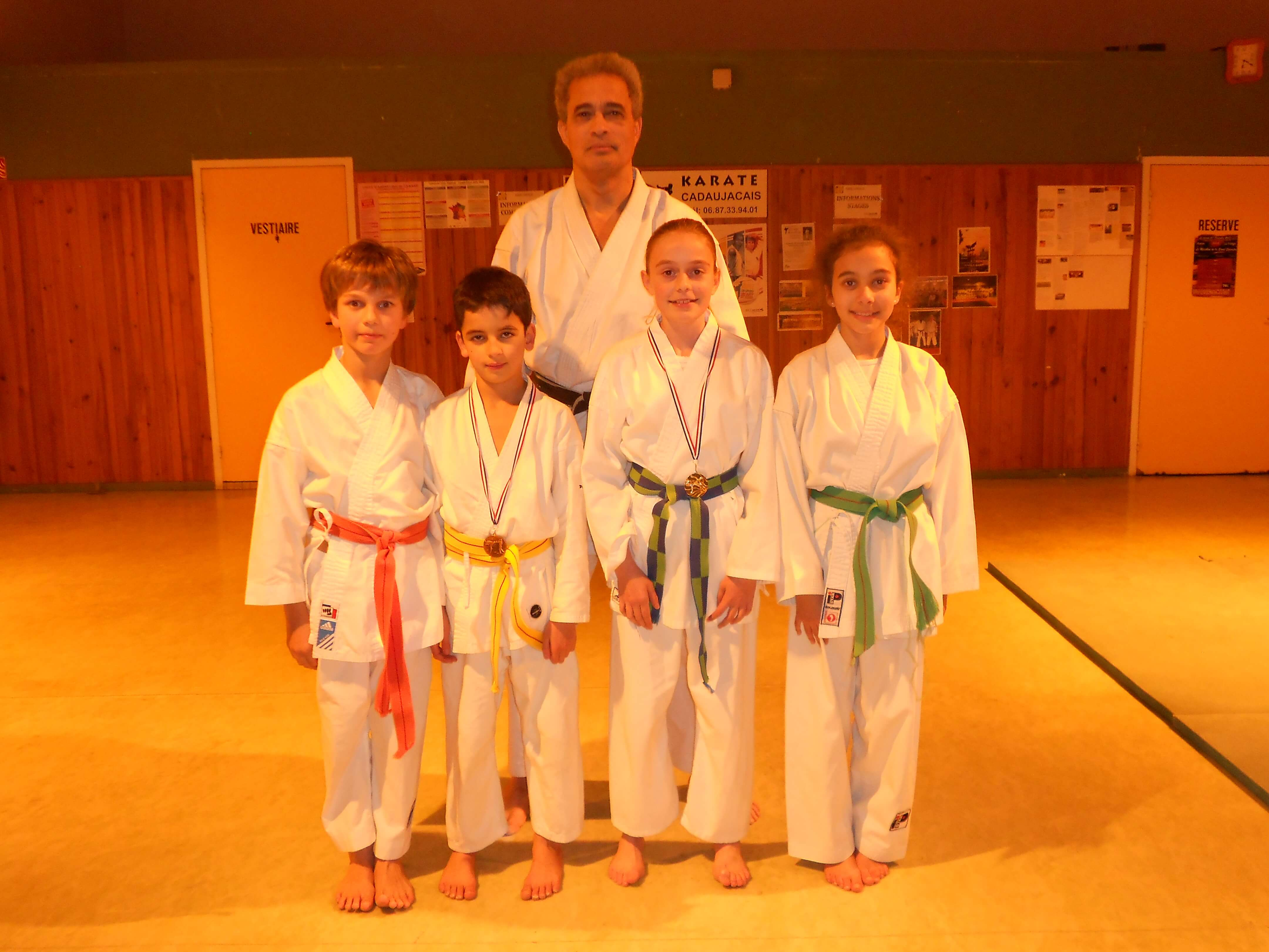 club karate gironde