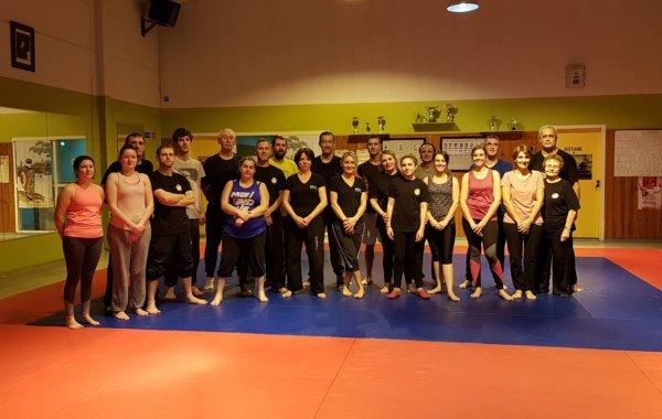 20 Décembre 2018 NOEL cours mixte Self Défense & Body Force