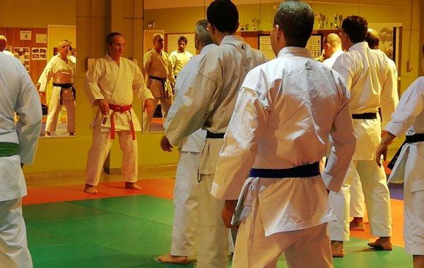 2020-02-14 Stage de Karate avec Senseï B.BILICKI 9° dan