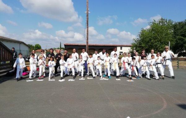 karate cadaujacais et Covid 19